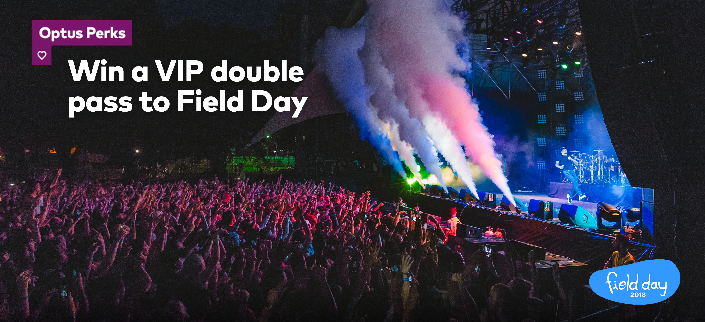 Win a Vip double pass to Field Day 2018