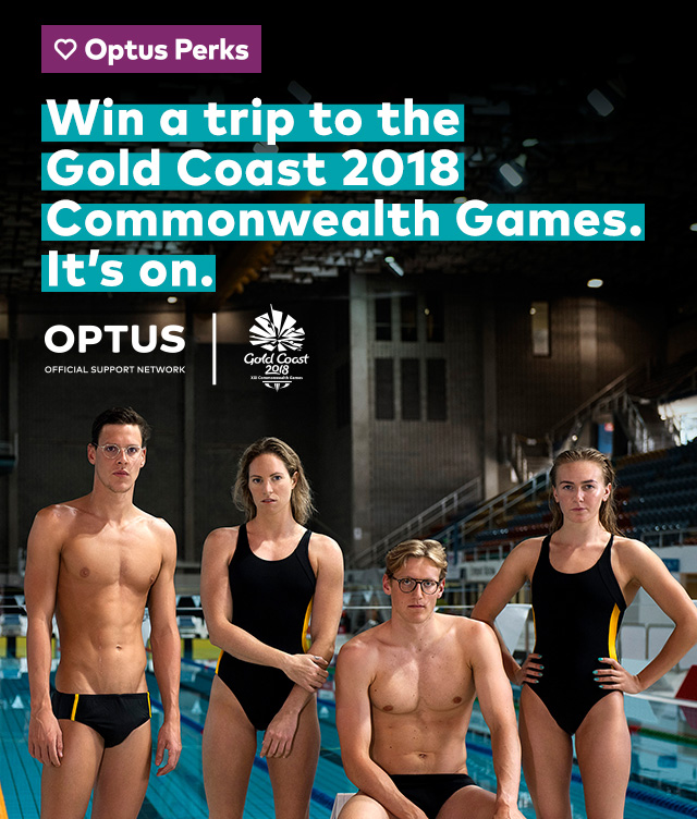 Win a trip to the Gold Coast 2018 Commonwealth Games. It's on