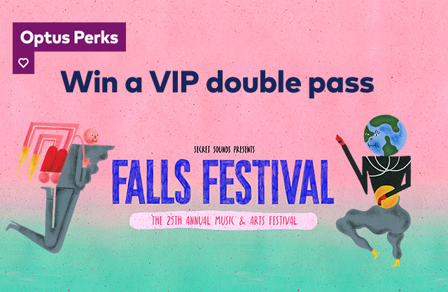Win a Vip double pass to Falls Festival
