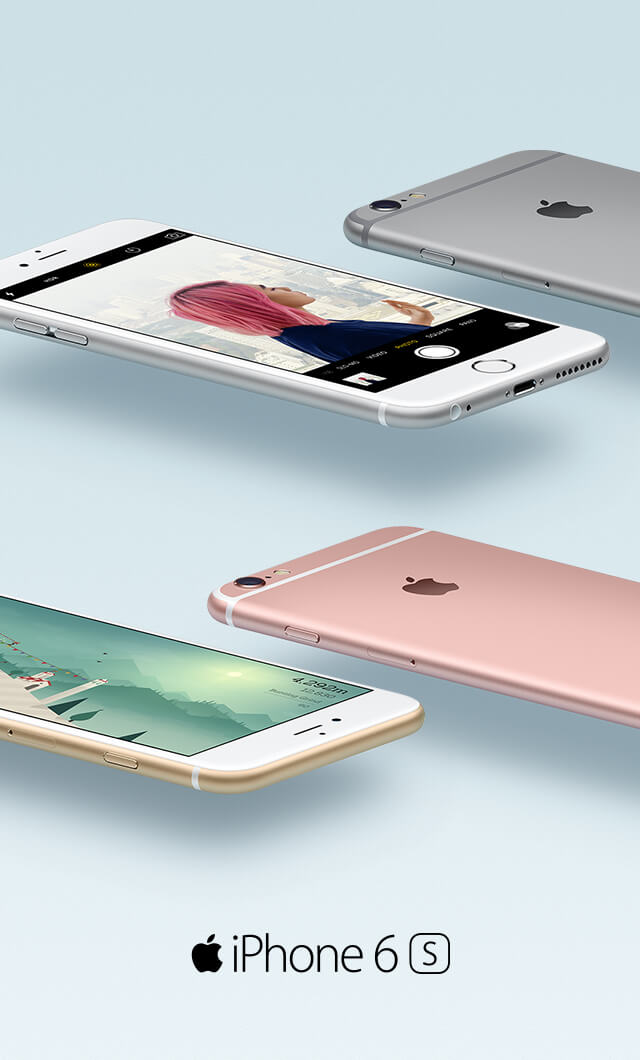 iPhone 6s and iPhone 6s Plus Plans - Optus