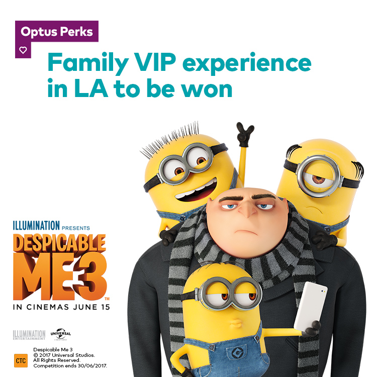 Family VIP experience in LA to be won