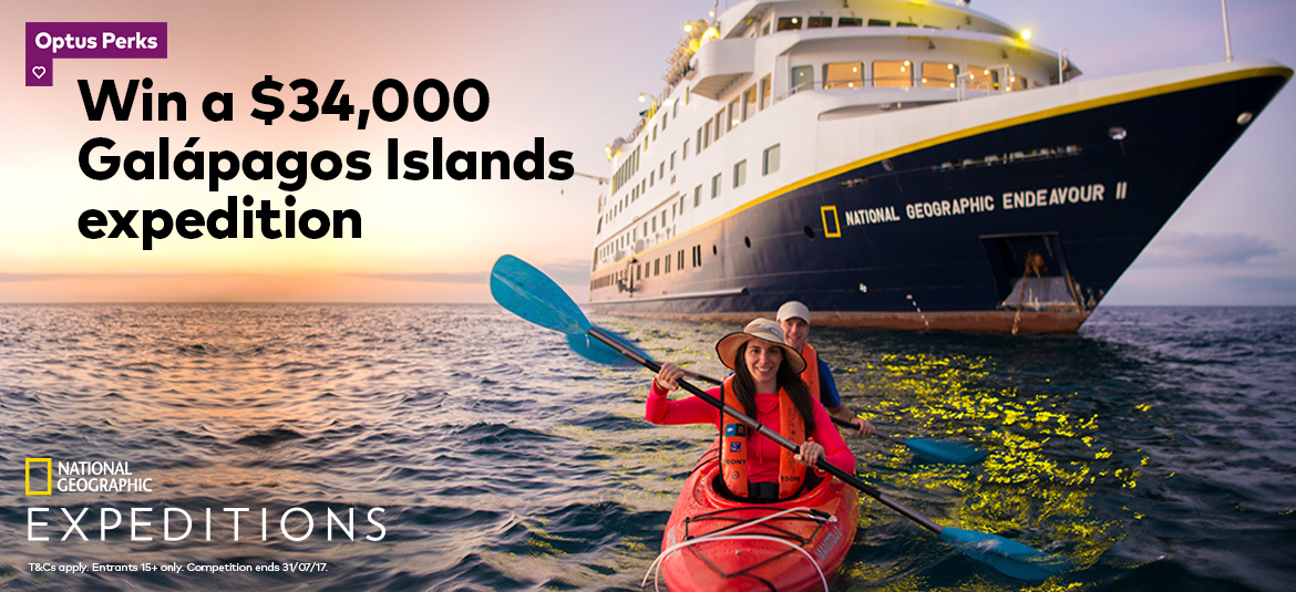 Win a $34,000 Galapagos Islands expedition