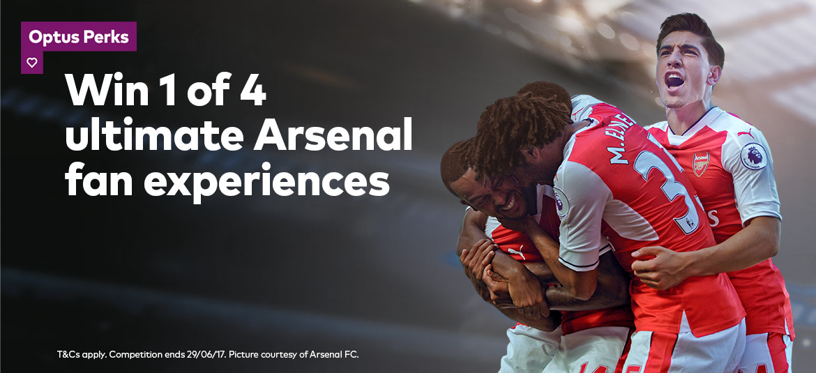 Win 1 of 4 ultimate Arsenal fan experiences